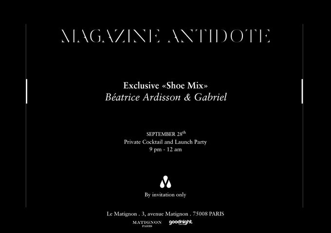 SOIREE MAGAZINE ANTIDOTE