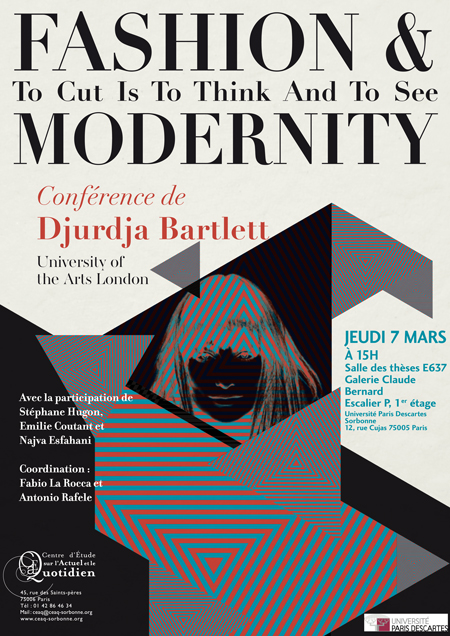 Djurdja Bartlett - Fashion and Modernity - Tendance Sociale 2013